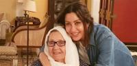 في عيد الأم ..  مشاهد مؤثرة بين لطيفة ووالدتها