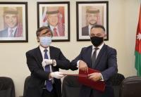 مساعدات طبية صينية للأردن لمكافحة كورونا
