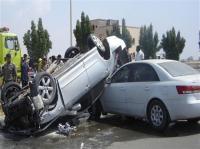 74 إصابة حوادث أمس