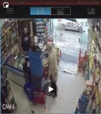 """سرقة 450 دينار من """"سوبرماركت"""" في ضاحية الرشيد - فيديو"""