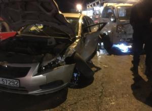 إصابات بحادث سير على دوار الواحة