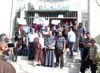 وقفة في الطفيلة للمطالبة بإنهاء إضراب المعلمين