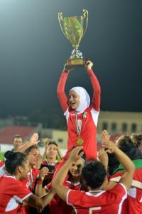 الأردن بطلاً لكأس غرب آسيا للسيدات