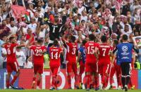 الجمعية الأردنية بالإمارات تحتفل بتأهل المنتخب بكأس آسيا