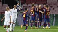 برشلونة يسحق فرينكفاروزي بخماسية