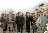 الحنيطي يزور قيادة لواء الملك حسين بن علي