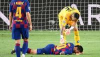 برشلونة يعلّق على اصابة ميسي