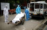1124 وفاة جديدة بكورونا في الهند