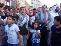 بالصور  ..  الإخوان يقودون مسيرة غضب في عمّان نصرة للأقصى
