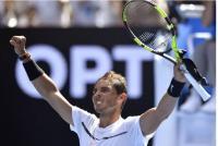 نادال القوي يهزم ماير في بطولة استراليا المفتوحة