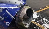 بعد مقتل راكبة ..  فحص مئات محركات الطائرات!