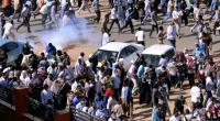 الشرطة السودانية تفرق المحتجين بالمسيل للدموع