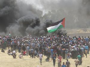 في ذكرى النكبة  ..  فلسطين محور الكرة الأرضية