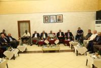 الدفاع المدني يقيم مأدبة افطار للمتقاعدين والمصابين