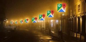ما علاقة خرائط غوغل بإنارة الشوارع؟