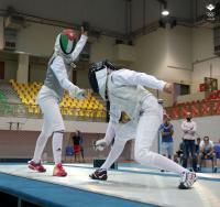 ذهبية وبرونزية للأردن في ختام الدوري الآسيوي للمبارزة