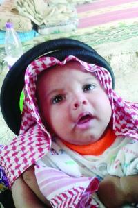 غضب بسبب وجود طفل سعودي في مخيم الزعتري