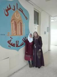 المركز الخامس في مسابقة القرآن لمدرسة أم شريك الأنصارية