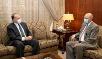 الفايز يبحث تعزيز العلاقات مع السفير الأميركي