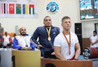 عمر قرادة يخطف ذهبية بطولة فزاع الدولية لرفع الأثقال البارالمبية