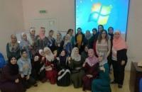 البترا تعقد ورشات عمل تطبيقية لطلبات معلم الصف