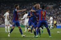 برشلونة يخطف فوزا مثيرا من ريال مدريد في الوقت القاتل