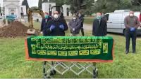 تشييع جثمان الدكتور خريسات في إيطاليا - فيديو