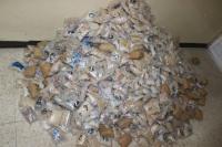 ضبط 800 ألف حبة مخدرات بجمرك جابر