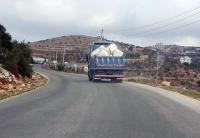 حظر مرور القلابات المُحملة في ماعين