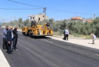 بلدية إربد تستكمل مشروع إعادة تأهيل شارع إسلام أباد
