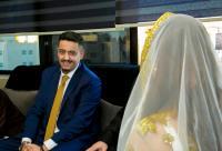 الزميل الاعلامي احمد دعموس مبارك عقد القران