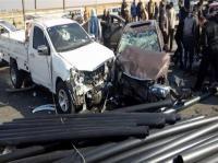 9 اصابات بحادث تصادم في الكرك
