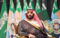 """ولي العهد السعودي يرد """"الاعمار بيد الله """""""