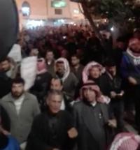 مسيرة في السلط احتجاجا على ارتفاع الأسعار