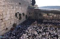 آلاف المستوطنين المتطرفين يتوافدون إلى حائط البراق