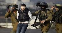 اعتقال 5 فلسطينيين في الضفة