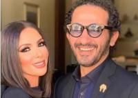 بعد صورة زوجته منى زكي مكبلة .. أحمد حلمي يتوعّد الفاعل
