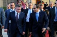 الملك والسيسي يبحثان التطورات على الساحة الفلسطينية