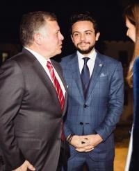 ولي العهد: مع جلالة سيدنا في كينغز أكاديمي