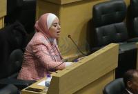 مقترح لبني مصطفى بالبرلمان الدولي للإفراج عن اللبدي