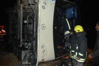 7 اصابات بحادث تدهور في اربد