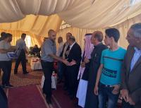 خوري :زيارة بيت عزاء العقرباوي الحد الأدنى من الوفاء لدمائه الزكية