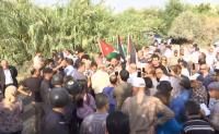 اعتصام في الباقورة يستهجن الصمت الحكومي
