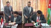 الأردن والعراق يوقعان على اتفاقيات تجارية