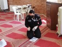 الأمن يستكمل مبادرة امان في المساجد والكنائس - صور