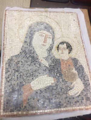 زرقاوي يسرق لوحة بيزنطية من مادبا بقضبة الامن