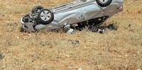 وفاة و3 اصابات بحادث تدهور في اربد