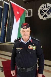 تهنئة للعميد خالد محمد النوافلة