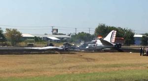حادث غريب ..  نجاة جميع ركاب طائرة بعد تحطمها في أمريكا