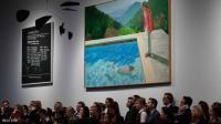 بيع لوحة فنية لفنان بريطاني بـ 90 مليون دولار